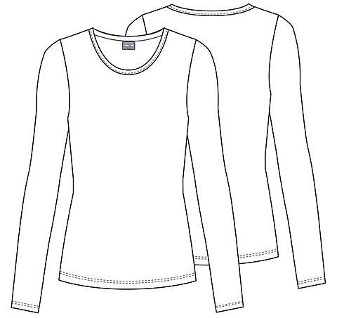 695da4f95 Dámske tričko dlhý rukáv - námornícka modrá | medical-uniforms