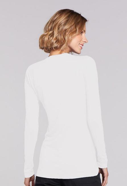 Zdravotnícke oblečenie - Dámske blúzy - 4881-WHTW - 5 7cc58ffd256