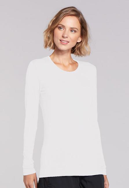 Zdravotnícke oblečenie - Dámske blúzy - 4881-WHTW - 3 d4d830ea0e5