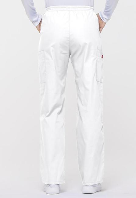 1effedf30761 Dámske zdravotnícke nohavice s gumou v páse - biela