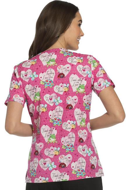Zdravotnícke oblečenie - Blúzy s potlačou - CK614-ITLV - 2 a4c1fd20e96