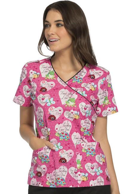 Zdravotnícke oblečenie - Blúzy s potlačou - CK614-ITLV - 1 44d60edd430