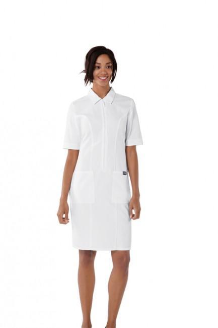 51566d920476 Zdravotnícke oblečenie - Zdravotnícke šaty - 4501-WHTW - 3
