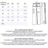 Zdravotnícke oblečenie - Pánske nohavice - 4043-TLBW - 3
