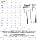 Zdravotnícke oblečenie - Pánske nohavice - 4100-RASW - 6
