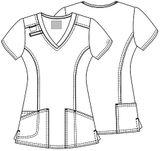 Zdravotnícke oblečenie - Blúzy - 4710-TRQW - 5