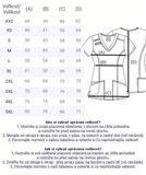 Zdravotnícke oblečenie - Blúzy - 4710-REDW - 7