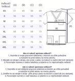 Zdravotnícke oblečenie - Dámske blúzy - 4725-TLBW - 7