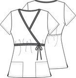 Zdravotnícke oblečenie - Dámske blúzy - 6625C-MKBM - 1