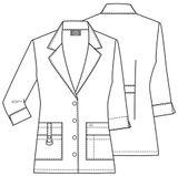 Zdravotnícke oblečenie - Zdravotnícke plášte - 82402-DWHZ - 5
