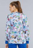 Zdravotnícke oblečenie - Dámske blúzy - CK301-TYPW - 3