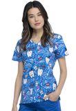 Zdravotnícke oblečenie - Dámske blúzy - CK614-BITH - 2