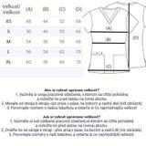 Zdravotnícke oblečenie - Dámske blúzy - CK616-TOFR - 4