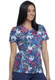 Zdravotnícke oblečenie - Dámske blúzy - CK646-NHNW - 3