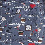 Zdravotnícke oblečenie - Dámske blúzy - DK306-NULF - 4