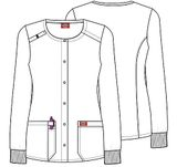 Zdravotnícke oblečenie - Dámske blúzy - DK306-DNRU - 2