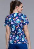 Zdravotnícke oblečenie - Dámske blúzy - TF614-DCACC - 1