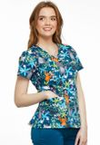 Zdravotnícke oblečenie - Dámske blúzy - TF638-JBNG - 4