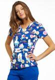 Zdravotnícke oblečenie - Dámske blúzy - TF641-ALWA - 3