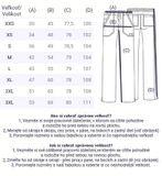 Zdravotnícke oblečenie - Dámske nohavice - WW130-REDW - 4