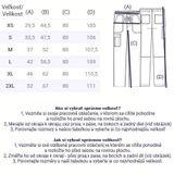 Zdravotnícke oblečenie - Pánske nohavice - WW250AB-WHT - 6