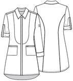 Zdravotnícke oblečenie - Plášte - 1401A-WTPS - 6