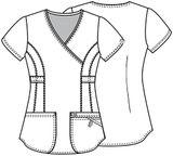 Zdravotnícke oblečenie - Dámske blúzy - 46601A-RECH - 2