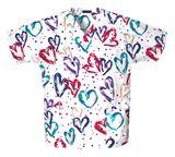 Zdravotnícke oblečenie - Blúzy s potlačou - 759-HRTB - 5