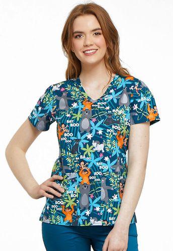 Zdravotnícke oblečenie - Dámske blúzy - TF638-JBNG