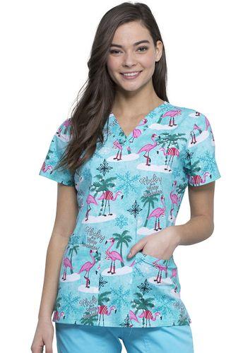 Zdravotnícke oblečenie - Dámske blúzy - CK616-WIFA