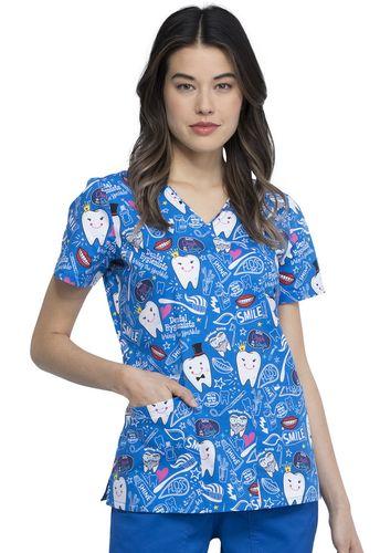 Zdravotnícke oblečenie - Dámske blúzy - CK614-BITH
