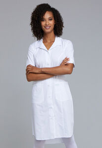 Zdravotnícke oblečenie - Zdravotnícke šaty - WW500-WHT