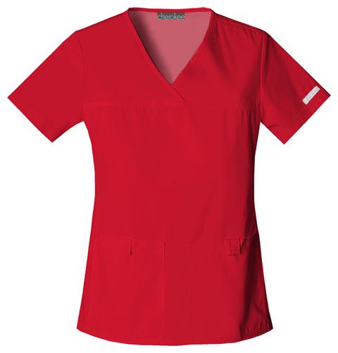Zdravotnícke oblečenie - Dámske blúzy - 2968-REDB zväčšiť obrázok e395945786f