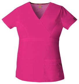 Dámska zdravotnícka blúza - ružová