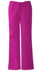 Dámske zdravotnícke nohavice s nízkym sedlom - azalková