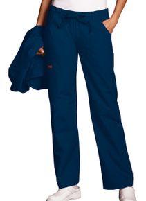 Dámske nohavice nízkym sedlom - námornícka modrá