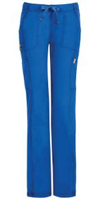 Dámske zdravotnícke nohavice s nízkym sedom CERTAINTY - kráľovská modrá