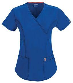Elegantná dámska zdravotnícka blúza Certainity - kráľovská modrá