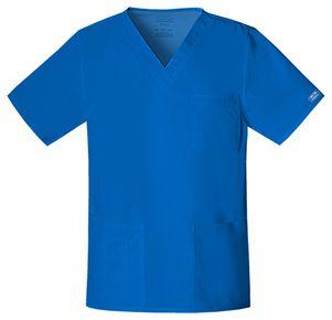 Pánska/ unisex zdravotnícka blúza V výstrih - kráľovská modrá