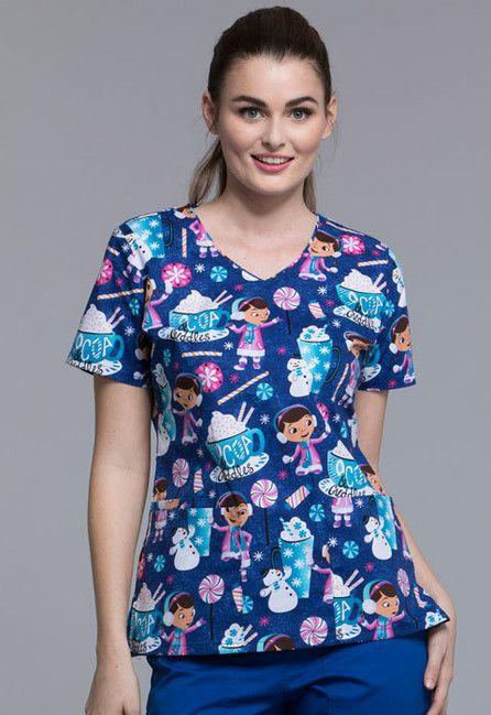 Zdravotnícke oblečenie - Dámske blúzy - TF614-DCACC