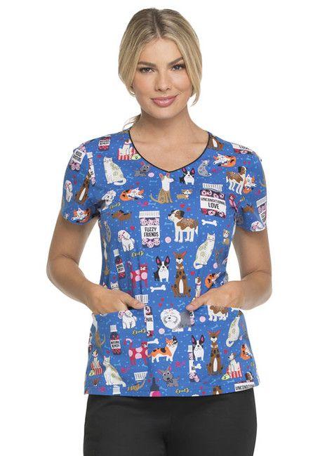 Zdravotnícke oblečenie - Dámske blúzy - DK700-UNLV