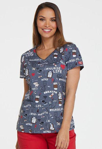 Zdravotnícke oblečenie - Dámske blúzy - DK700-NULF