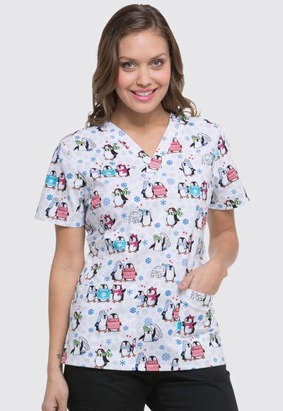 Zdravotnícke oblečenie - Dámske blúzy - DK704-SHTR