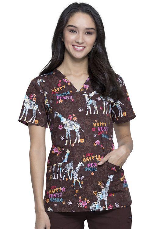 Zdravotnícke oblečenie - Dámske blúzy - CK651-JYGF