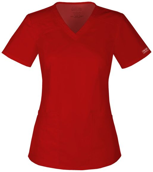Zdravotnícke oblečenie - Blúzy - 4710-REDW