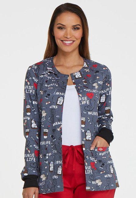 Zdravotnícke oblečenie - Dámske blúzy - DK306-NULF