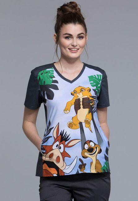 Zdravotnícke oblečenie - Dámske blúzy - TF637-LKAK
