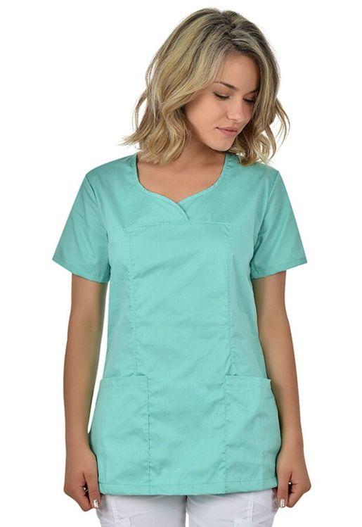 Zdravotnícke oblečenie - Novinky - blúzy - 4-400223-MINT