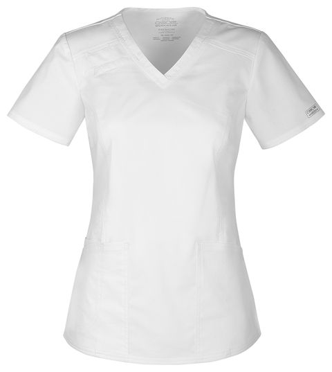 Zdravotnícke oblečenie - Blúzy - 4710-WHTW