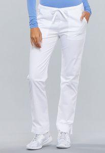 Dámske nohavice úzkeho strihu - biele